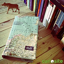 Funda para Libros de Tela Mapamundi