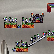 Imanes para nevera Lemmings