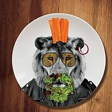 Wild Dinner Plates
