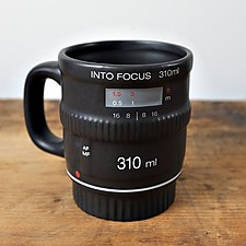 "Taza Objetivo ""Into Focus"""
