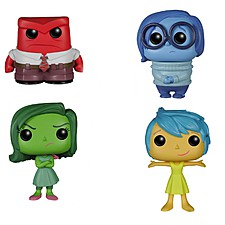"Muñecos de Vinilo ""Inside Out POP!"""