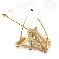 Catapulta de Leonardo da Vinci DIY