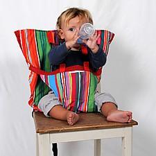 Asiento adaptable de tela acolchada para bebés