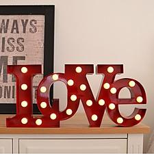 "Lámpara LED ""Love"""