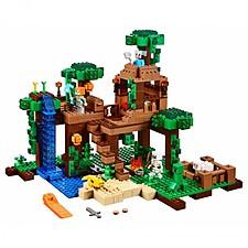 LEGO Minecraft La Casa del Árbol en la Jungla