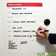 Week Planner Magnet Board