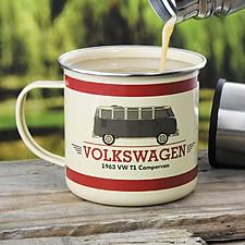 Taza Esmaltada Furgoneta de Volkswagen
