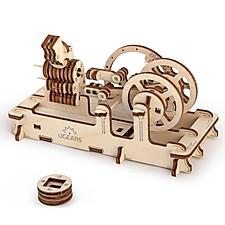 Motor Neumático de Madera Engine de Ugears