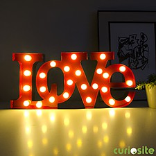 "Lámpara LED ""Love"""