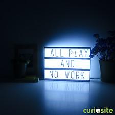 Caja de Luz para Dejar Mensajes
