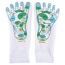 Calcetines para dar masajes de reflexología