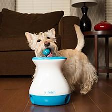 Juguete lanzador de pelotas gravitacional para perros pequeños