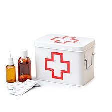 Botiquín Metálico Cruz Roja