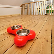 Comedero para Perros Doble Bone Bowl