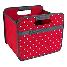 Foldable Box Hibiscus Red Dots