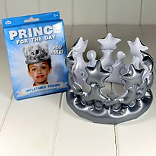 Corona Hinchable Princesa o Príncipe por un Día