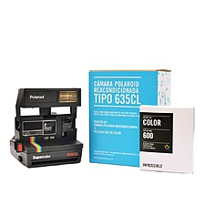 Kit Cámara Polaroid 635 CL