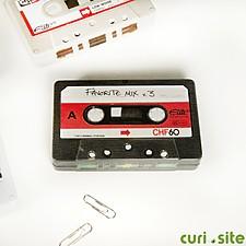Mini Caja de Almacenaje Metálica Cassette
