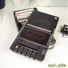 Caja de Almacenaje Metálica Mediana Radiocassette