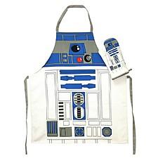 Delantal y Manopla de Cocina R2-D2