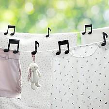 Pinzas Originales Notas Musicales