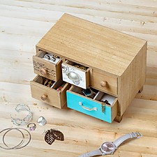 Bureau Jewelry Box