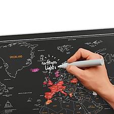 Mapa de Rascar Pizarra