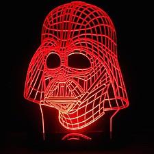 Lámpara 3D Darth Vader