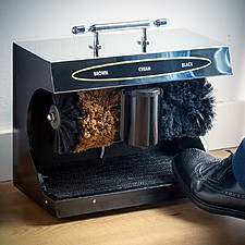 Limpiazapatos eléctrico