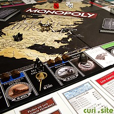 Monopoly en versión Juego de Tronos en español