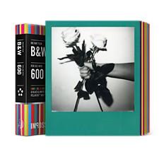Película para Polaroid 600 B&N con Marcos de Colores