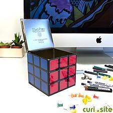 Caja de Metal Organizadora Cubo de Rubik