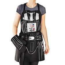 Delantal y Manopla de Cocina Darth Vader