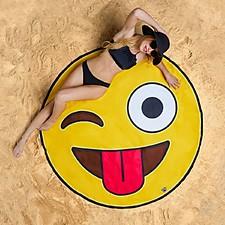 Toalla de Playa Gigante Emoji