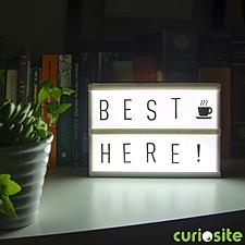 Wooden Light Box