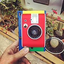 Cámara instantánea Lomo Instant Mini en edición Murano