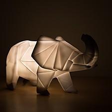 Lámpara de Animales Origami