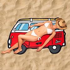 Toalla de Playa Furgoneta Hippie