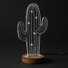 Lámpara 3D Cactus