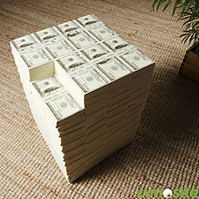 Taburete Original Billetes de Dólar de Rotary Hero