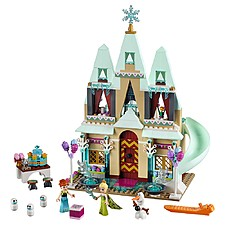 Celebración en el Castillo de Arendelle de LEGO