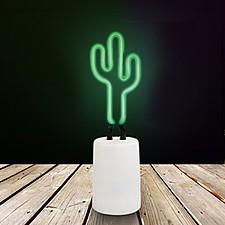 Lámpara de Neón Pequeña Cactus