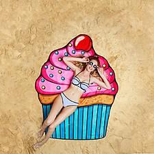 Toalla de Playa Gigante Cupcake