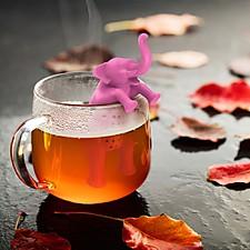 Infusor de Té Elefante Rosa Big Brew