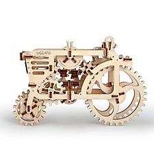 Kit para construir un tractor mecánico de madera