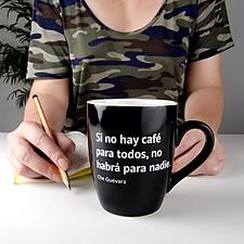 Taza para cafeinómanos Si no hay café...