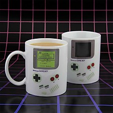 Taza que Cambia de Color Game Boy