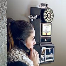Teléfono Retro de Pared