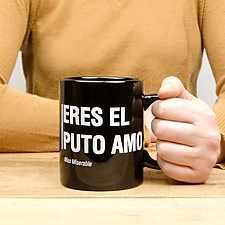 Taza con mensaje para sobrados
