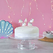 Velas de Cumpleaños Unicornio